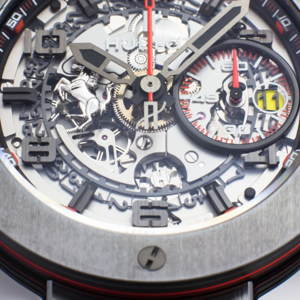 Hublot Big Bang Ferrari All Black