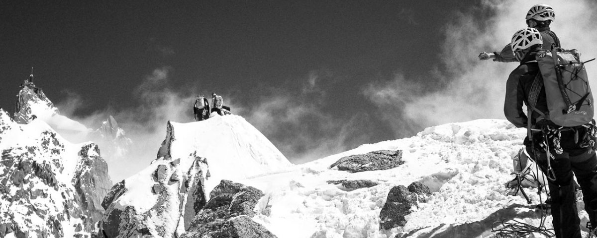 Alpinisme - Aiguille du Midi